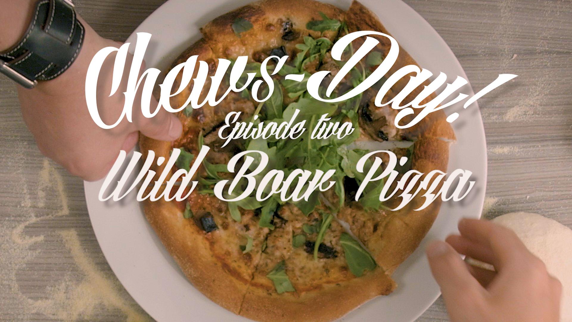 Vlog 02 Wildboar pizza thumb